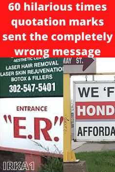 """When quotation marks aren't used properly, they can make the context a bit """"off"""" if you catch our drift."""
