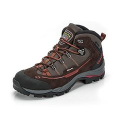 Clorts Mens Suede Leather Waterproof Hiking Shoe Outdoor Backpacking Boot Brown HKM303A US9 * Click on the image for additional details.(This is an Amazon affiliate link)