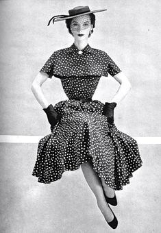Adele Simpson dress from 1952.