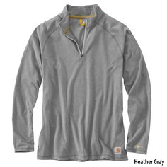 Carhartt Mens Force Delmont Quarter-Zip Pullover-789477 - Gander Mountain I really like this color. In large