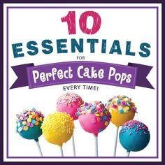10 ESENCIALES párr Perfect Cake Pops de Cada Hora