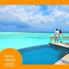 """이렇게 아름다운 몰디브의 풍경을 바라보며 그저 망중한을 즐기고 싶으신 분들 """"좋아요"""" 누르고 공감~~ 함께 이 곳에서 시간을 보내고 싶은 소중한 사람이 있다면 """"소환""""~~  #몰디브 #불금 #wishiwerehere #리얼몰디브 #여행"""