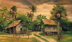 """Old Florida Paintings 