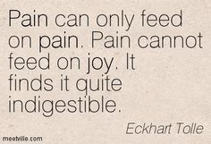 The EGO (pain body) seeks negative situations. Here's how you get your power back! http://www.spiritualcoach.com/eckhart-tolle-on-oprah-a-new-earth-webclass-5/ #eckharttolle #ego #painbody
