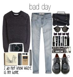 """bad day"" by tickling ❤ liked on Polyvore featuring T By Alexander Wang, Abercrombie & Fitch, Sixtyseven, Monki, Maison Margiela, Koh Gen Do, Aesop, Oribe, Tim Holtz and T3"
