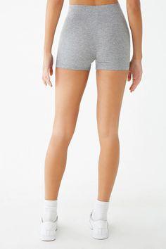 4164c609dcf Basic Cotton-Blend Bike Shorts | Forever 21