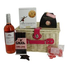 Girls Night In Deluxe Pink Hamper fantastic gift ideas all with free delivery direct from www.serendipityhomeinteriors.com