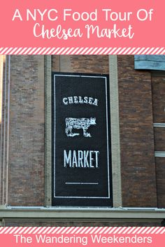 A NYC Food Tour through Chelsea Market with Foods of NY Tours! You're guaranteed to learn about the neighborhood and leave very full!