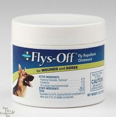Flys-Off Ointment Fly Repellent 2oz by Farnam. $8.41