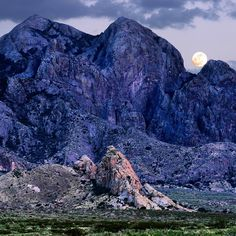 Organ Mountains, New Mexico, from the Sierra Vista National Recreation Trail.