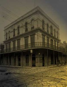 10 of The Most Haunted Spots in the United States - The LaLaurie Mansion, New Orleans