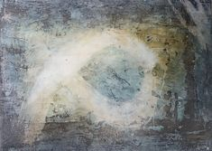 """Go right"", marble powder, pigments, mixed media, 100 x 149 x 4 cm, 2017"