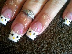 Nails.......Hello Kitty