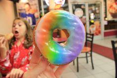 rainbow donut. ♡