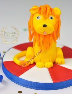 lion cake topper tutorial