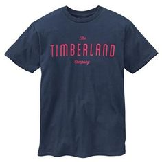 Timberland - T-shirt SS Kennebec River TBL Tee Homme - Coupe Droite - black iris