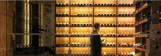 Ristorante Frescobaldi / London by Autoban Big Stock, Hilton Hotels, Wine Display, Cafe Bar, Wine Rack, Blinds, Restaurant, London, Wallpaper