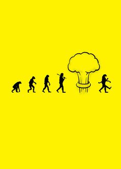 Nuclear Evolution. A little science humor.