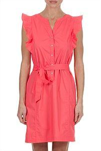 Cotton Sleeve Dress