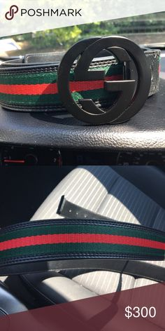 Authentic Gucci Belt Authentic Gucci Belt. Bought from one of my friends, and he bought it from the Gucci Store. For sizes 40-44.      PRICE IS NEGOTIABLE. WILLING TO DO TRADES Gucci Accessories Belts