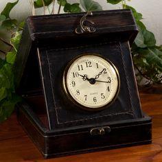 Vintage Travel Clock | Sturbridge Yankee Workshop  Regular Price: $24.95  Sale Price: $19.95