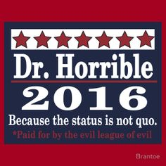 Vote dr. horrible 2016
