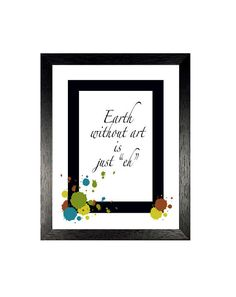 Humorous Quote Wall Decor, Inspirational Art Print, Instant Download