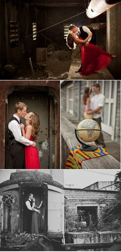 Creative engagement photos.