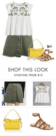 """""""Shein"""" by tawnee-tnt ❤ liked on Polyvore featuring Marc by Marc Jacobs, MICHAEL Michael Kors and Sunny Rebel"""
