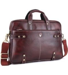 WildHorn 15 inch Laptop Messenger Bag (Brown)