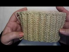 My Favorite Stitch of the Week: The Cartridge Belt Rib Stitch - YouTube