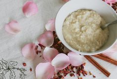 From Issue 17::MYTH. Recipe by Holly Bellebuono. Rose Petal Rice Pudding  Ingredients:1 tablespoon packed fresh rose petals, or 1 teaspoon dried½...