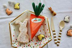 Sew your own carrot with sweet filling - lovely decoration and giveaway for your Easter breakfast table! Näh Dir Deine eigene Karotte mit süßer Füllung - niedliche Geschenkidee und Dekoration für den Ostertisch!