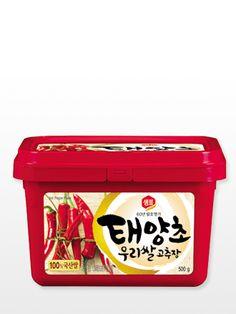 4€ Salsa Coreana de Pasta Arroz, Cereales y Guindilla, Gochujang