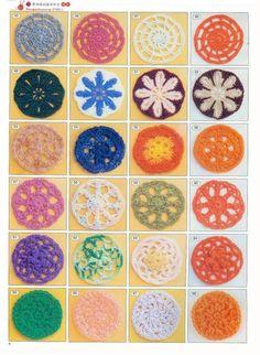 Ideas para el hogar: 2180 Puntos para tejer
