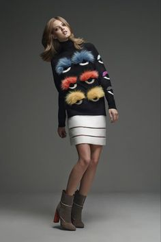 Fendi pre-fall 2015!!! And the bugs continue!!! Loving it!!