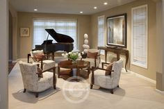 New living room layout with piano house plans Ideas Piano Living Rooms, Living Room Lounge, New Living Room, Formal Living Rooms, Living Room Decor, Small Living, Modern Living, Living Spaces, Grand Piano Room