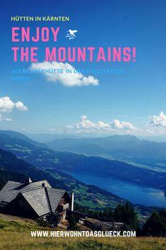 """Der """"Weg der Liebe – Sentiero dell´amore"""" führte uns zum 2.060 Metern hoch gelegenen Granattor mit genialer Aussicht auf den Millstätter See. Mehr auf unserem Blog.   #kärnten #granattor #ausflug #blog #wanderninkärnten #carinthia #mountains #hierwohntdasglück #urlaubinkärnten #familienausflug #ausflüge #ausflugsideen Mountains, Nature, Blog, Travel, Alps, Hiking, Love, Naturaleza, Viajes"""