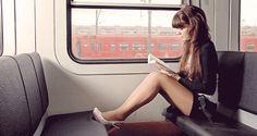 Lezen in de trein: mijn 5 favorieten