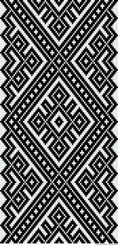 Awesome Most Popular Embroidery Patterns Ideas. Most Popular Embroidery Patterns Ideas. Tapestry Crochet Patterns, Bead Loom Patterns, Weaving Patterns, Geometric Patterns, Crochet Chart, Filet Crochet, Crochet Stitches, Inkle Weaving, Tablet Weaving