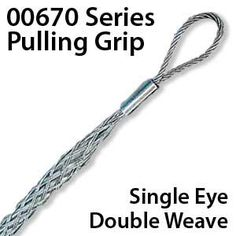 Series 00670 Wire Mesh Pulling Grip
