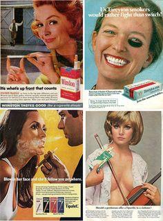 Cigarette Advertising: A Vintage Look