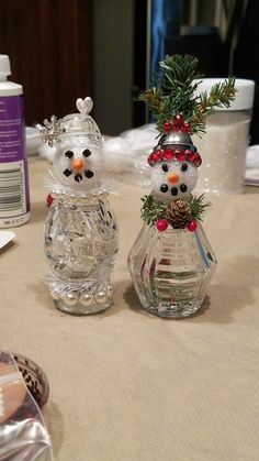 Farm Scene Snowglobe | Christmas crafts | Pinterest | Christmas ...