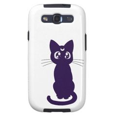 Moonkitty Samsung Galaxy SIII Case OMG I WANT THIS! !!!! SAMMY OR SUZIE GET IT FOR ME PLEASE :D
