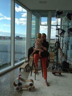 7/5/12 - Martha Stewart and granddaughter Jude.