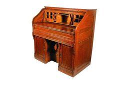 Salesman Sample Wick Desk/Organ. Manufactured in 1899