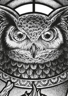 Owl by Yeaaah! Studio, via Behance