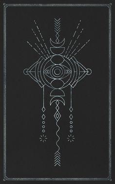 Illustration / Silver Moon Wanderer\\n©Penabranca Tatoo Henna, 1 Tattoo, Tatoo Art, Mandala Tattoo, Tattoo Mond, Motifs Aztèques, Jagua Henna, Tatto Love, Muster Tattoos