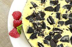 Ukemeny for uke 14 Oreo Cheesecake, Oreos, Pesto, Nom Nom, Side Dishes, Goodies, Baking, Dinner, Desserts