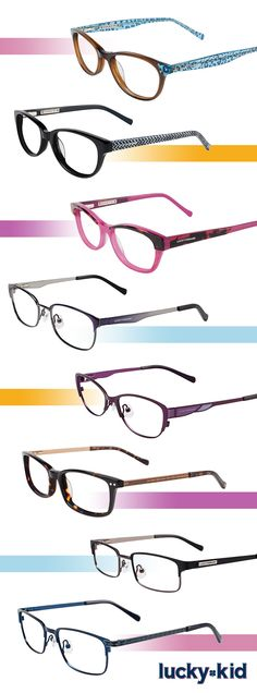 Lucky Kid Frames Give Way to Easy-Breezy Styling: http://eyecessorizeblog.com/2015/08/lucky-kid-frames-give-easy-breezy-styling/